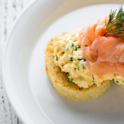 Salmon Eggs Breakfast - Langlands Brasserie