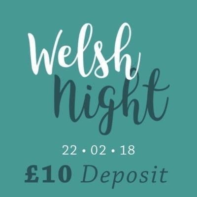 Welsh culinary night langlands 2018