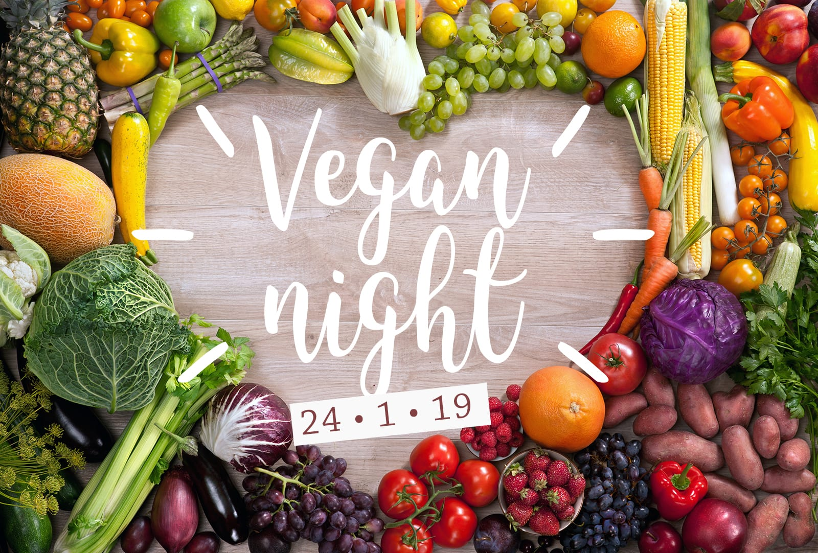 vegan culinary night