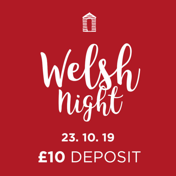 culinary welsh night at Langlands 23 October 2019